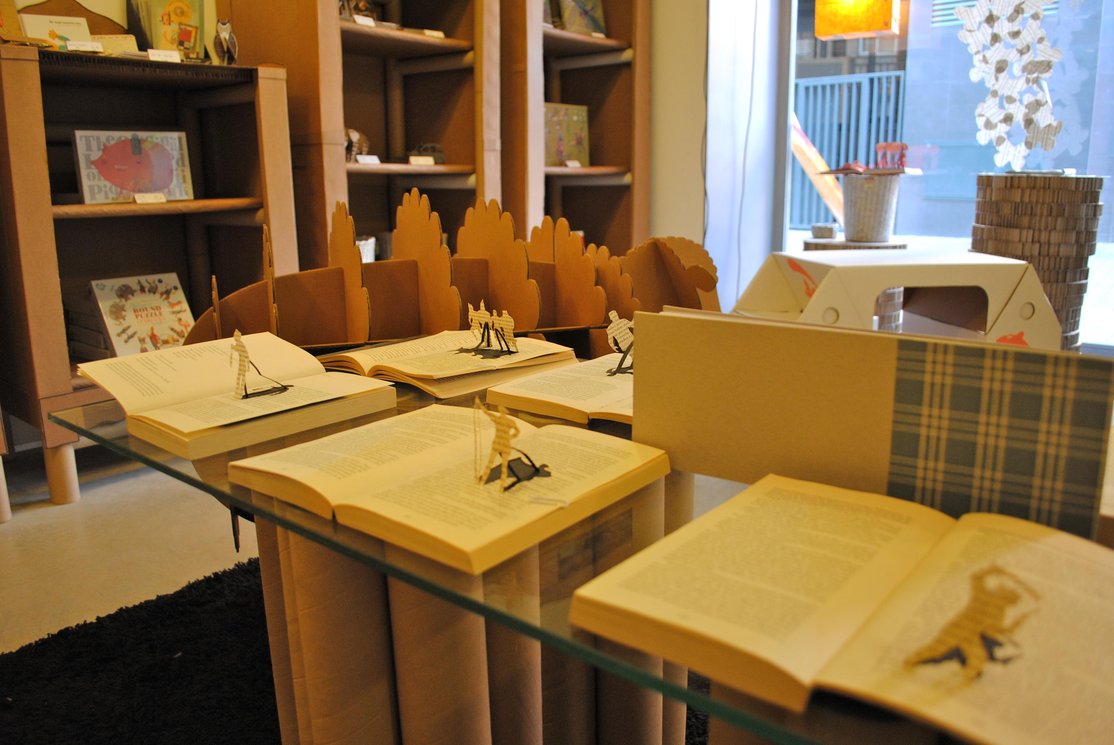 Carton reciclado la cartoneria p gina 2 - Mesas de carton ...