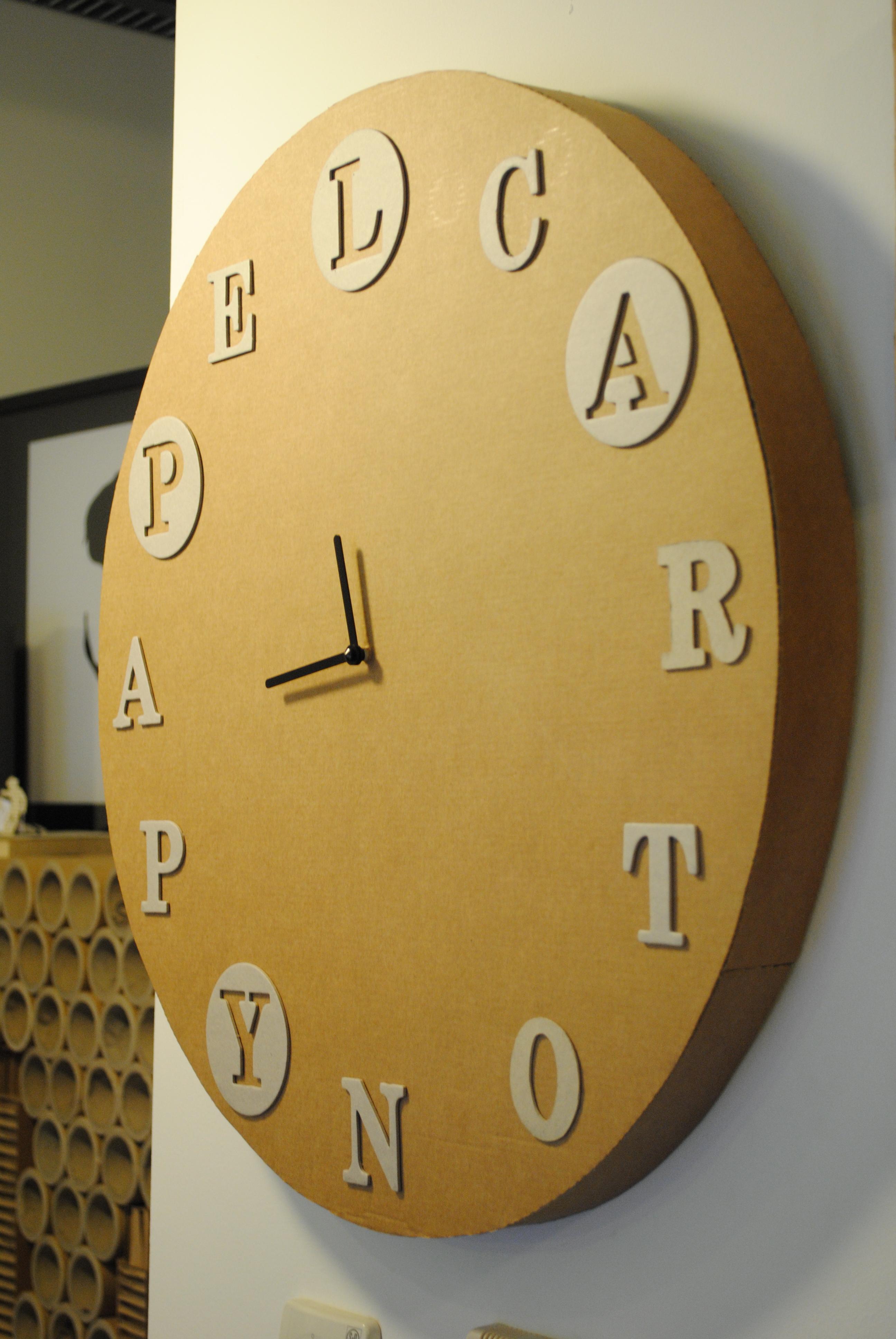 Reloj De Cart 243 N 171 La Cartoneria