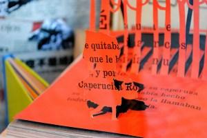 exposicion libros recortados Calamo 5