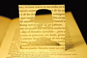 libros recortados hombre invisible 2