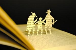 libros recortados oliver twist 3