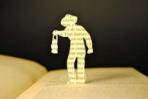 libros recortados tom sawyer 1