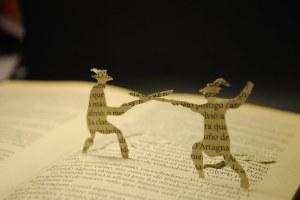 libros recortados tres mosqueteros 1