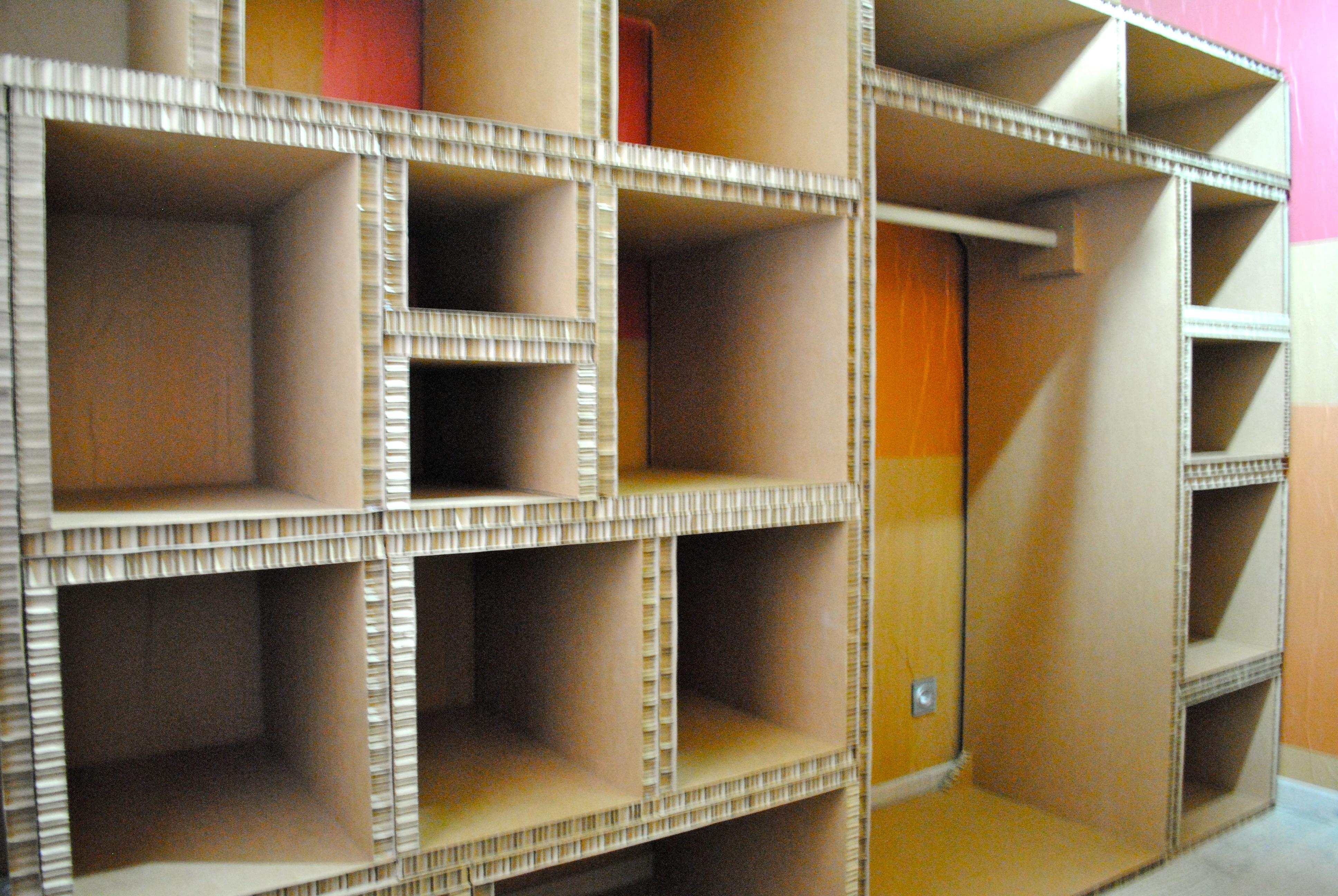Mueble para cuarto de plancha « LA CARTONERIA