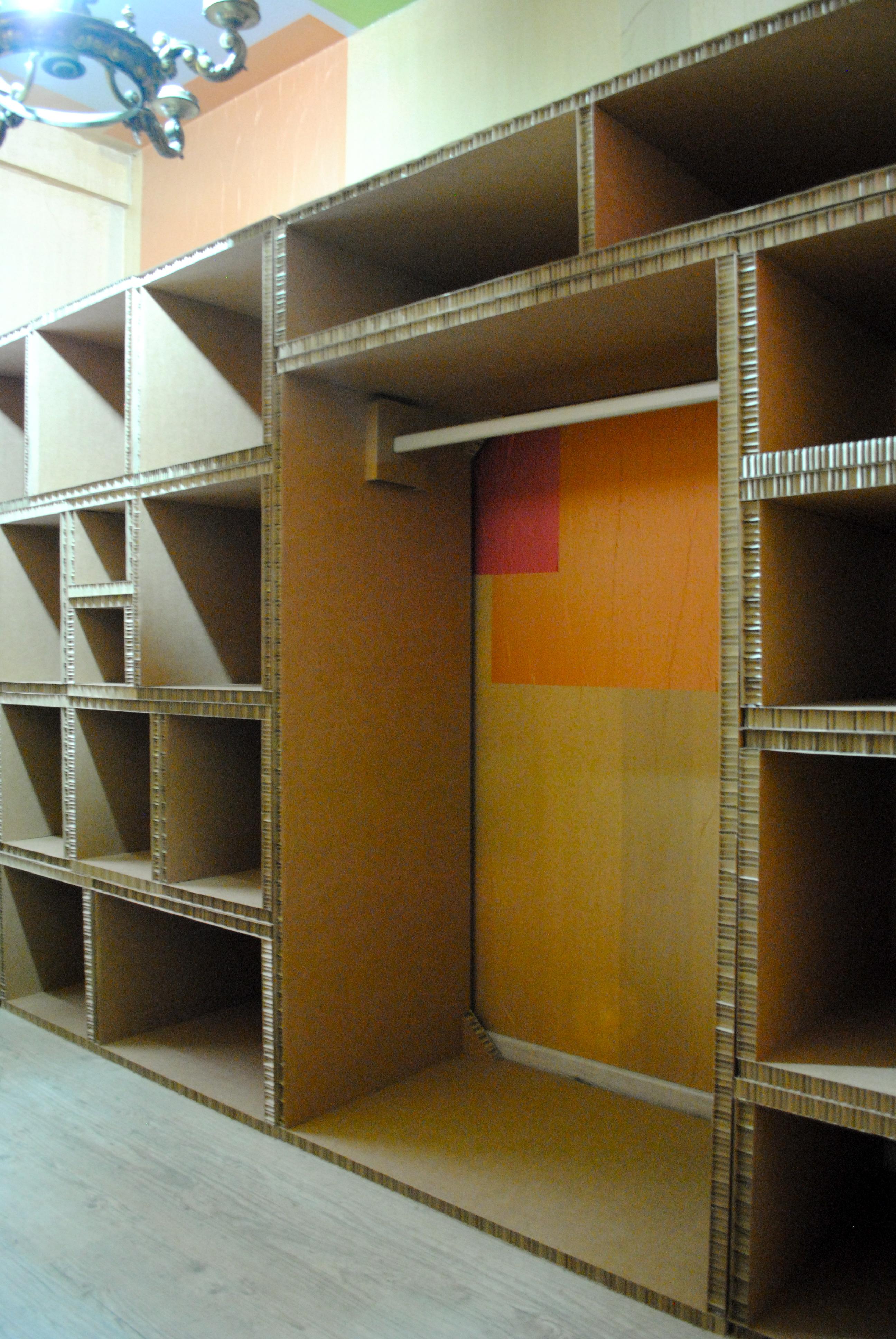 Mueble para cuarto de plancha la cartoneria - Hacer un armario a medida ...