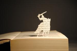 Libros recortados-Ivanhoe1
