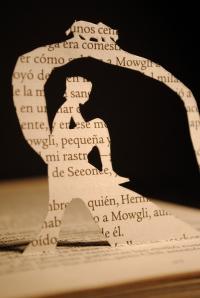 Libro recortado. El libro de la selva1