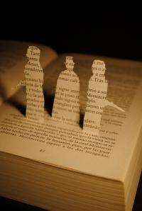 Libro recortado. El conde de Montecristo3
