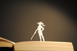 Libro recortado. Scaramouche6