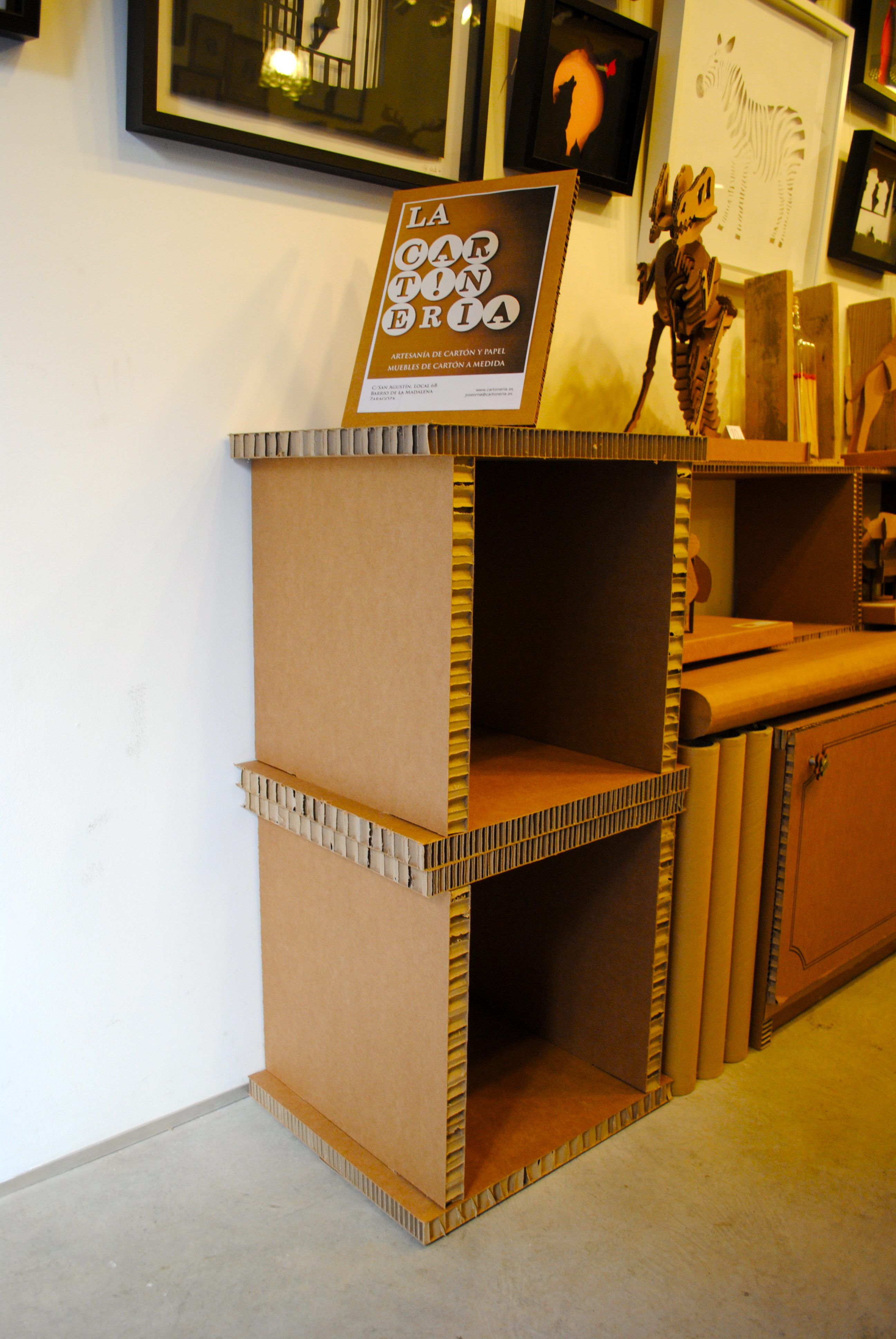 Muebles La Cartoneria P Gina 6 # Muebles Nido De Abeja